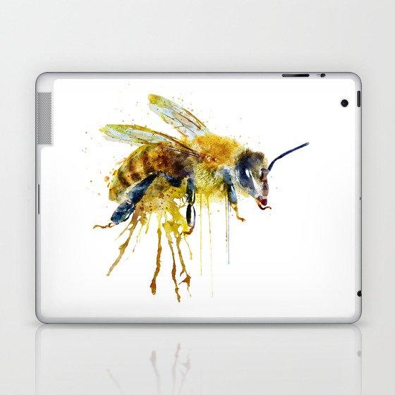 Watercolor Bee Laptop & iPad Skin