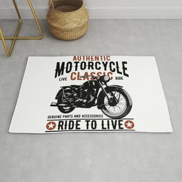 Ride To Live Rug