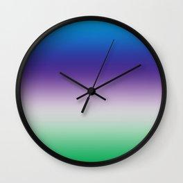 Perfect shades Wall Clock