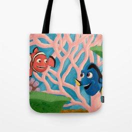 Dory and Marlin Tote Bag