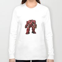 iron man Long Sleeve T-shirts featuring IRON MAN iron man by alifart