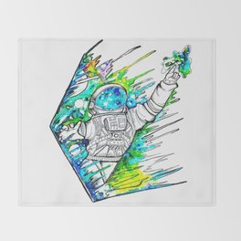 Space Cadet Throw Blanket