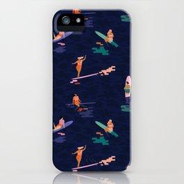 Surf goddes iPhone Case