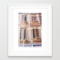 cincinnati Framed Art Prints featuring Cincinnati by GinaGorsek