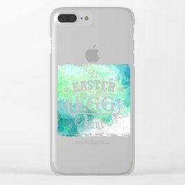 Easter Egg Hunt Green Design Ideas Creative and Unique For Everyone Style Clear iPhone Case