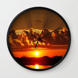 African dream Wall Clock