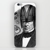 magneto iPhone & iPod Skins featuring MAGNETO by DIVIDUS