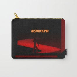 Agnipath-A fiery road Carry-All Pouch