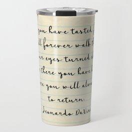 Once you have tasted flight Travel Mug