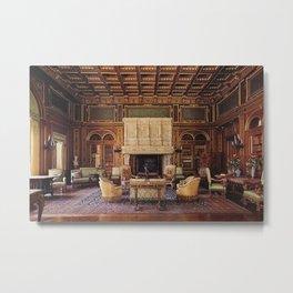Newport Mansions, Rhode Island - The Breakers Grand Library by Jeanpaul Ferro Metal Print