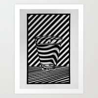 tequila Art Prints featuring Trippin' Tequila by Ana Lillith Bar
