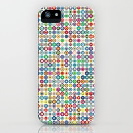 Crazy Dots iPhone Case