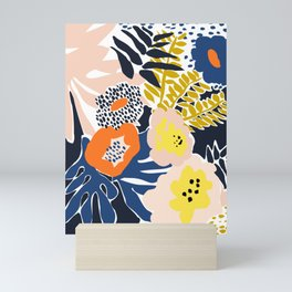 More design for a happy life - high Mini Art Print