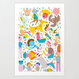 Party! Art Print