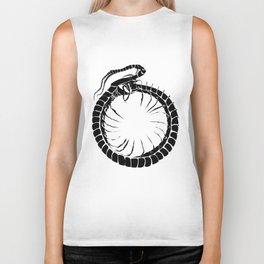 Ouroboros Centipede Biker Tank