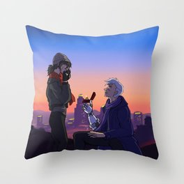 Sheith Proposal Throw Pillow