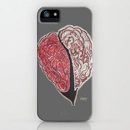Brain Heart Coherence - Supporting Matthew Tischler iPhone Case