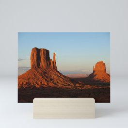 Sandstones Valley Landscape Red Rocks Rocks Mini Art Print