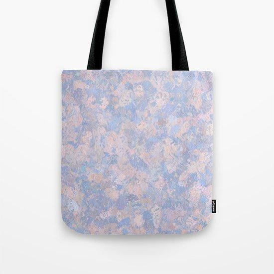 Rose Quartz and Serenity Blue 4644 Tote Bag