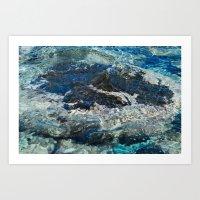 Malaysian Waters Art Print