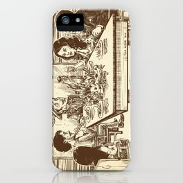 We're all cannibals here iPhone Case