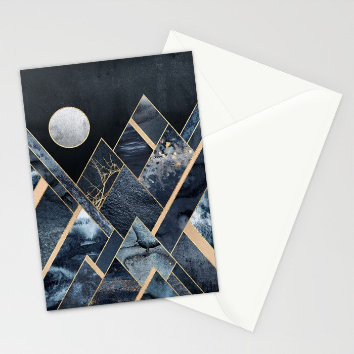 Stormy Mountains Stationery Cards