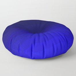 Deep Rich Sapphire Ombre Floor Pillow