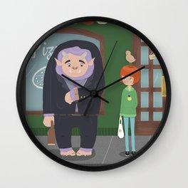 Office monster Wall Clock