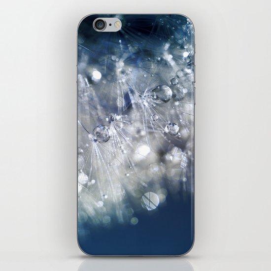 New Year's Blue Champagne iPhone & iPod Skin