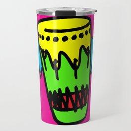 hipster art, hipster illustrations, bongo art, Travel Mug
