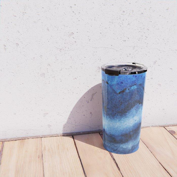 Blue Layers Travel Mug