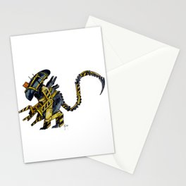 Cosplay Xenomorph - Aliens Work Loader Stationery Cards