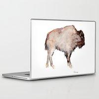 buffalo Laptop & iPad Skins featuring Buffalo by Elena Sandovici