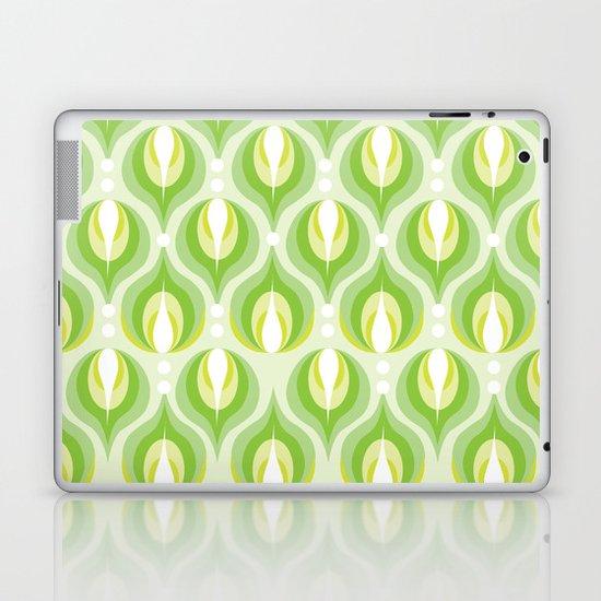 Green Dew Drops Laptop & iPad Skin