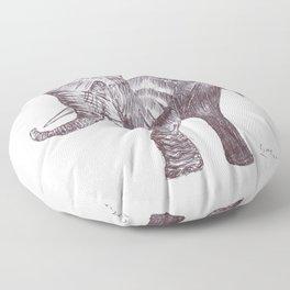 BALLPEN ELEPHANT 2 Floor Pillow