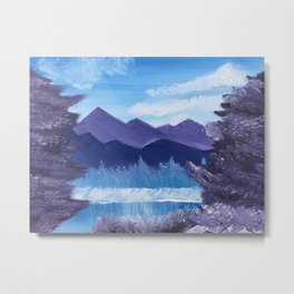 Winter Bliss Metal Print