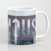 infamous Mugs featuring Infamous by Alexander Livesey