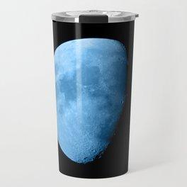 4K Dark Side of the Moon Ice Blue Travel Mug