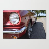 mustang Canvas Prints featuring Mustang by Inphocus Photography