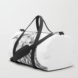 she's a beauty drawing Duffle Bag