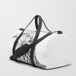 she's a beauty drawing Duffle Bag