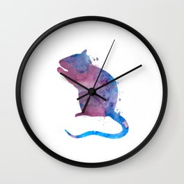 Rat Wall Clock