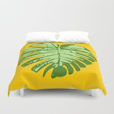 Cheese Plant Duvet Cover