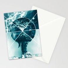 Atomic Space Stationery Cards