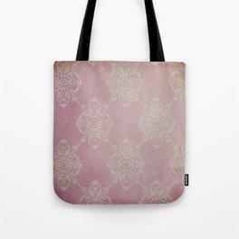 Vintage Damask - Cherry Tote Bag