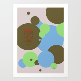 One Unlike The Others Art Print