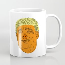 PIG TRUMP Coffee Mug