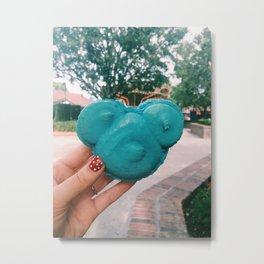 Mouse Macaron Metal Print