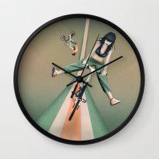 Happy Joyride Wall Clock