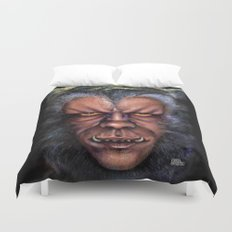 The Werewolf Curse Duvet Cover